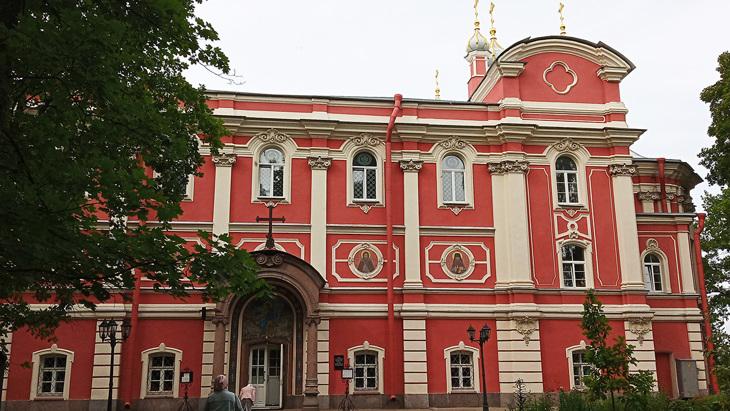 Церковь преподобного Сергия Радонежского.
