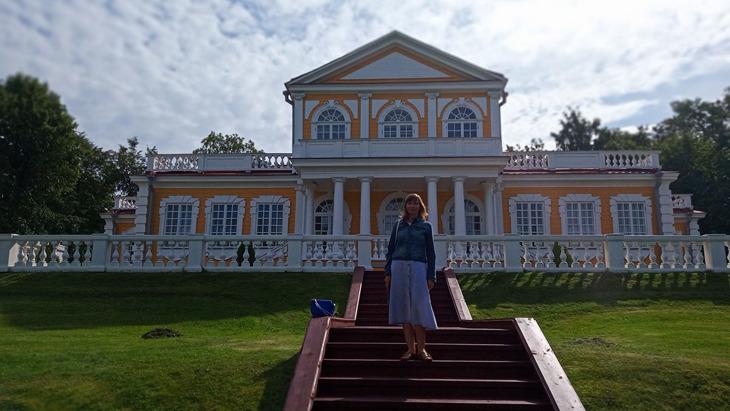 Путевой дворец Петра 1.