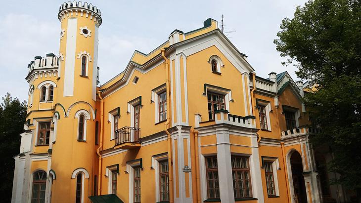 Дворец Львова в Стрельне.